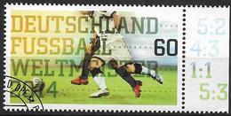 2014 Allem. Fed. Deutschland Germany Mi. 3095 FD-used  Gewinn Der Fußball-Weltmeisterschaft In Brasilien Durch Die Deuts - [7] République Fédérale
