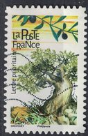 France 2018 Oblitéré Used Arbres Olivier Olea Europaea - France