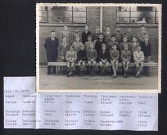 Klasfoto 1949/1950 Izegem,Roeselare,Tielt? - Identified Persons