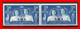 AFRICA SUID AND SOUTH AFRICA / PAIR STAMP AÑO 1947 - Oficiales