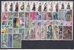ESPAÑA 1969 Nº 1898/1948 AÑO NUEVO COMPLETO CON TRAJES,51 SELLOS - España