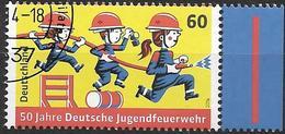 2014 Allem. Fed. Deutschland Germany Mi. 3099 FD-used  50 Jahre Deutsche Jugendfeuerwehr - [7] République Fédérale