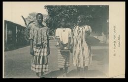 GUINÉ-BISSAU - COSTUMES - Jeunes Filles ( Ed. Foto D.A. Longuet Nº 50) Carte Postale - Guinea-Bissau