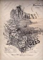 REVIENS Mélodie N°1 Musique Georges Rupès Paroles,poésie Vicomte Oscar De Poli,piano Baryton, Mezzo-soprano état Moyent - Partitions Musicales Anciennes