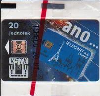 Czechoslovakia; Privat Card B8. KSTK, Chip SC4 - Czechoslovakia