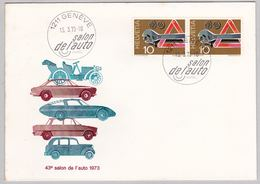 Auto-Salon Genf 1973 (br5486) - Briefe U. Dokumente