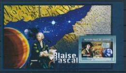 NB - [400892]Guinée 2009 - Blaise Pascal, Satellites, Astronomie - Astronomie