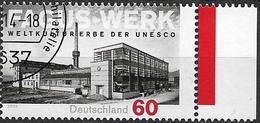 2014 Allem. Fed. Deutschland Germany Mi. 3105 FD-used  UNESCO-Welterbe : Fagus-Werk, - [7] République Fédérale