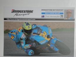 Moto Motorcycle Motorbike Bike Motoren Motorrad Motocycliste Suzuki Vermeulen - Motociclismo
