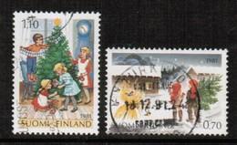 FINLAND  Scott # 660-1 VF USED (Stamp Scan # 443) - Finland