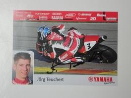 Moto Motorcycle Motorbike Bike Motoren Motorrad Motocycliste Yamaha Teuchert - Motorcycle Sport