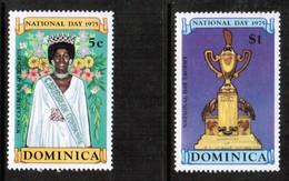 DOMINICA  Scott # 443-6** VF MINT NH (Stamp Scan # 443) - Dominica (...-1978)