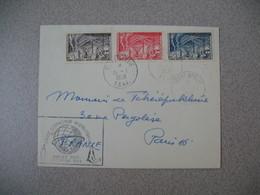 TAAF Lettre  Terre Adélie   Pour La France N° 8 / 9 / 10  Du 15/1/1958  Année Géophysique Internationale - French Southern And Antarctic Territories (TAAF)