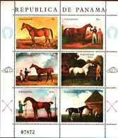 90453) PANAMA-QUADRI DI CAVALLI-IN FOGLIETTO-MNH**. - Panama