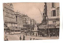 +2413, AK-Format, Frankreich??, Europa?? Stadt, Straßenbahn - Postcards