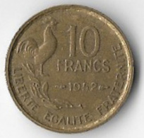 France 1952 10 Francs [C137/1D] - France