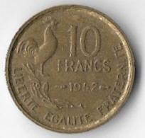 France 1952 10 Francs [C137/1D] - K. 10 Francs