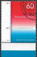 2014 Allem. Fed. Deutschland Germany Mi. 3109 FD-used  300 Jahre Fahrenheit-Skala. - [7] République Fédérale