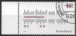 2014 Allem. Fed. Deutschland Germany Mi. 3110 FD-used  200. Geburtstag Von Julius Robert Von Mayer - [7] République Fédérale