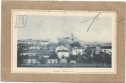 W609 Acqui (Alessandria) - Panorama Della Città / Viaggiata 1918 - Altre Città