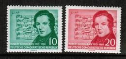 GERMAN DEMOCRATIC REPUBLIC  Scott # 303-4* VF MINT HINGED (Stamp Scan # 443) - [6] Democratic Republic