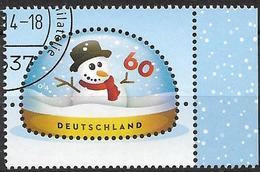 2014 Allem. Fed. Deutschland Germany Mi. 3111 FD-used  Schneemann - [7] République Fédérale