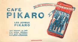 Buvard Ancien CAFE PIKARO - TORREFACTEUR - Café & Thé
