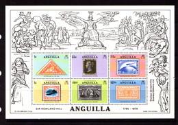 ANGUILLA    1979    Death  Centenary  Of  Sir  Rowland  Hill   Sheetlet   MNH - Anguilla (1968-...)