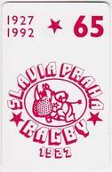 Czechoslovakia; C8. Rugby Slavia Praha; CN 40033 - Tchécoslovaquie