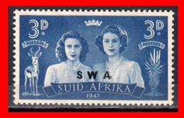 AFRICA SUID  AFRICA /  STAMP AÑO 1947PRINCESSES MARGARET ROSE AND ELIZABETH - Oficiales