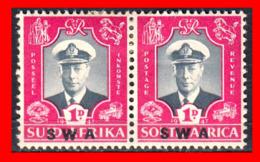AFRICA RSA AFRICA /  PAIR STAMP AÑO 1969 GEORGE VI  ,, SWA ,, - Oficiales