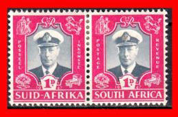 AFRICA RSA AFRICA /  PAIR  STAMP AÑO 1969 GEORGE VI - Oficiales