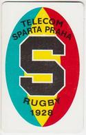 Czechoslovakia; C9. Rugby Sparta Praha; Chip SC5; CN 39901 - Czechoslovakia
