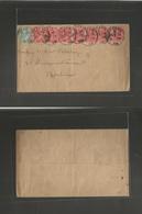 Great Britain - Xx. 1902 (Feb 2) London - Germany, Berlin. Multifkd Envelope At 7 1/2d Rate, Provisional Cds. - Great Britain