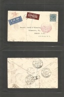 Great Britain - Xx. 1931 (18 June) London Portland St - Germany, Berlin. Express Airmail Service. German Luftpost. Singl - Great Britain