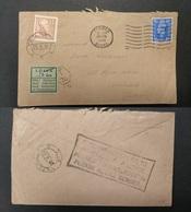 Great Britain - Xx. 1950 (24 April) Slough, Bucks - Sweden, Vetlanda (28 April) Fkd Env + Taxed + Swedish P. Due, Tied + - Great Britain