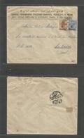 Grb - British Levant. 1921 (16 Nov) Constantinople - Cairo, Egypt (22 Nov) Armenian Business Trilingual Printed Multifkd - Great Britain