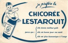 Buvard Ancien CHICOREE LESTARQUIT - Café & Thé