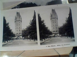 STEREOSCOPICA GERMANY MAINZ DER RHEIN HOLZTHURUM 1900 HA7391 - Cartoline Stereoscopiche