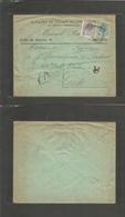 E-Alfonso Xiii. 1920. 290º, 275º. Madrid - Inglaterra, Leeds. Sobre Certificado. - Unclassified