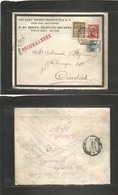"E-Provincias. 1935 (27 Marzo) Barcelona. Correo Local Certificado. Matasello ""cartas-tarde"". Bonita. - Unclassified"