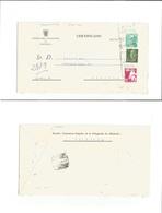 E-Enteros Postales. 1966 (21 Enero) Valencia - Segovia. Sobre Entero Postal Hacienda 1,80 Pts. Castillo De La Mota + Pla - Unclassified