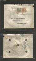 E-Rio De Oro. 1912 (28 Enero) R. Oro - Barcelona (7 Febr) Via S/C Tenerife (30 Enero) Sobre Franqueo Certificado. Muy Es - Unclassified