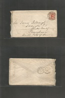 Sweden. 1880 (2 Sept) Stockholm - USA, PA, Eddington, Bucks Cº. Fkd Env 20ore, Central Cds, Via NY (Sept 17) With Full C - Sweden