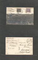 Sweden. 1926 (14 Febr) Malmo - Italian Somaliland, Mogadiscio, Fkd View Card. Very Rare Destination / Postal Link. - Sweden