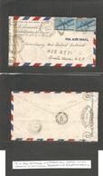 Usa - Prexies. 1942 (July) Chile - USA, NYC - UK, London. An Interesting Jewish - American Rottschild Cº Fwded Through U - United States