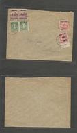 Yugoslavia. 1919 (Mar 3) Zagreb. Ovptd HVATSKA. Hungary Ovptd Issue On Cover. Multifkd Envelope. - Yugoslavia