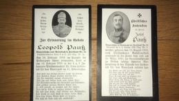 Sterbebild Wk1 Ww1 Bidprentje Avis Décès Deathcard KUK IR14 Pkasczewo LIR2 Brünn Aus Rainbach Freistadt Nr. 21 - 1914-18