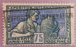 """FRANCE ANNEE 1924/1925  YT 214 OBLITERE """" EXPOSITION INTERNATIONALE DE 1925"""" - France"""
