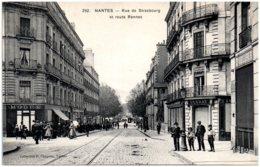 44 NANTES - Rue De Strasbourg Et Route Rennes - Nantes